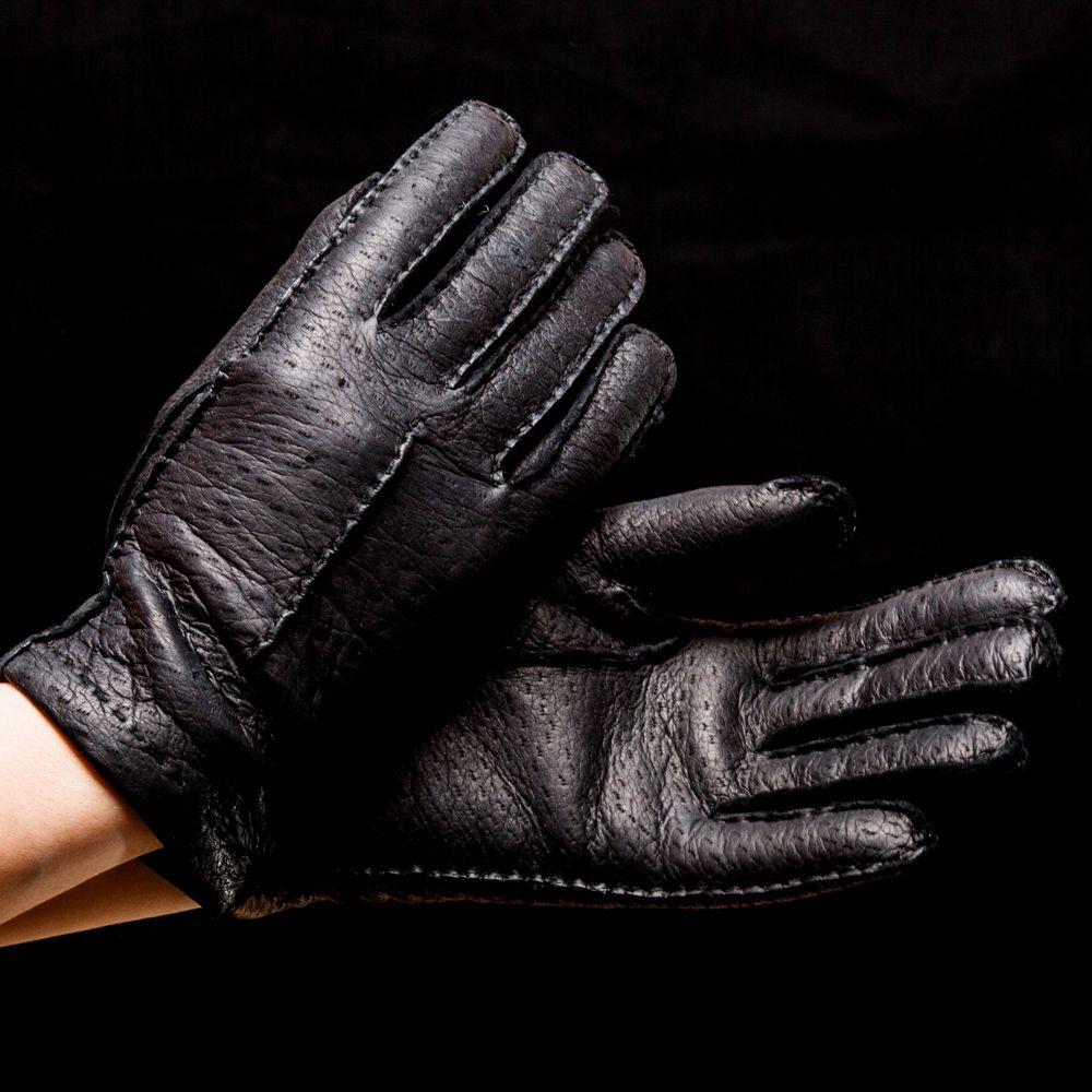 Перчатки женские Omega Pecary Nero