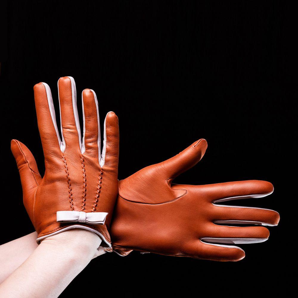 Перчатки женские Omega Grace Camel-Galet