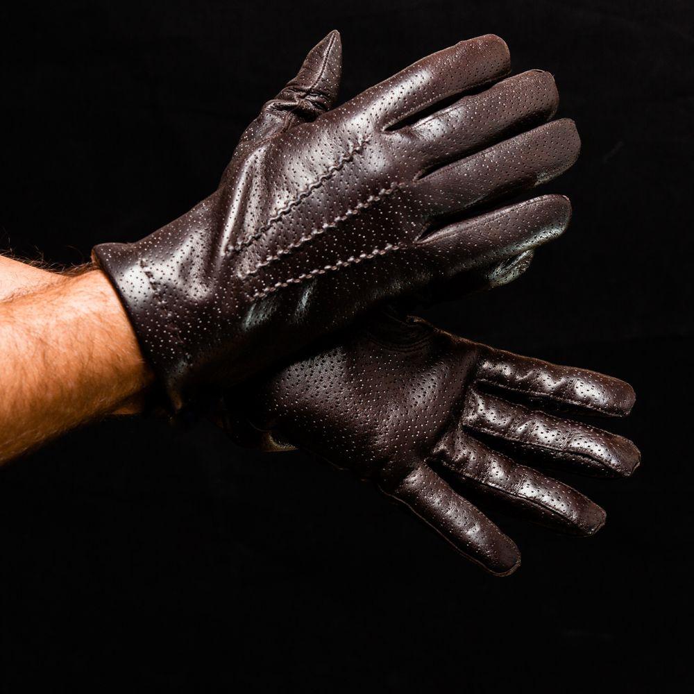 Перчатки мужские Omega 717 Marrone